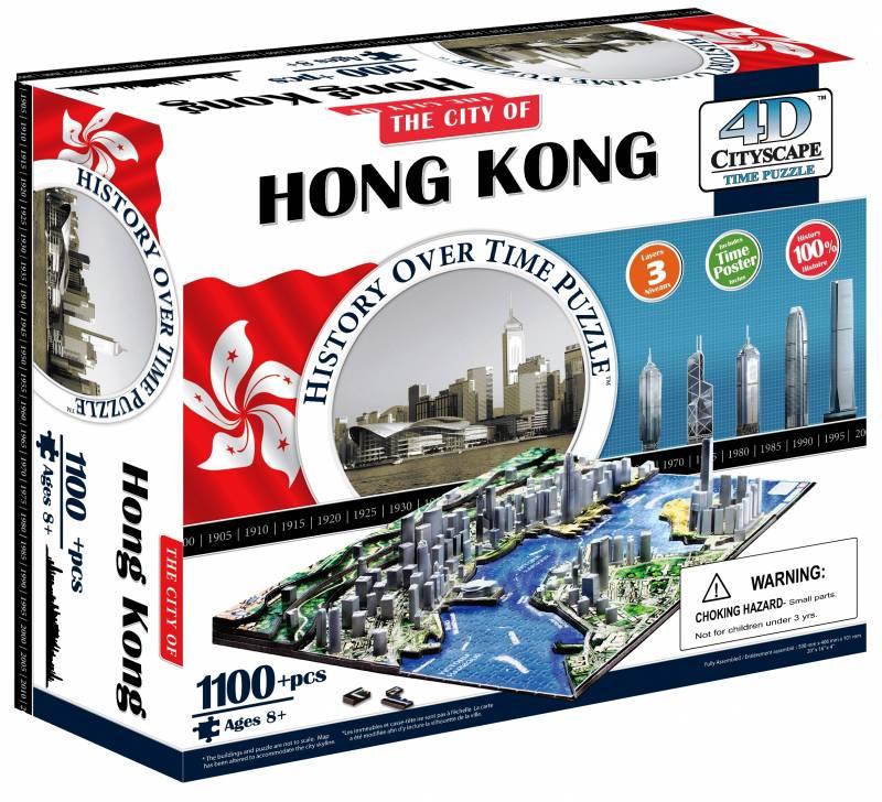 Объемные пазлы города 'Гонконг