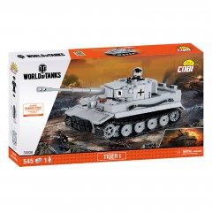 Конструктор Cobi World Of Tanks Тигр I 545 деталей Cobi-3000B