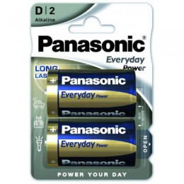 Батарейка D LR20 Panasonic серии Everyday Power
